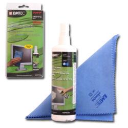 LCD kijelző tisztító spray (250ml) + törlőkendő