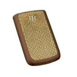 Akkufedél, Blackberry 9700 Bold, cayman-bronz
