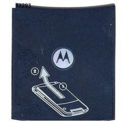 Akkufedél, Motorola V9, sötétszürke