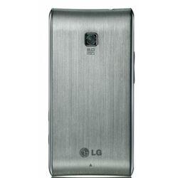 Akkufedél, LG GT540, ezüst