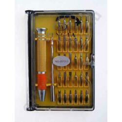 Csavarhúzó készlet, Pengfa NO-0512-C (32 db-os)