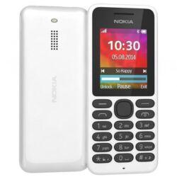 Mobiltelefon, Nokia 130 DualSIM, fehér