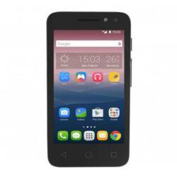 Telefon, Alcatel OT-4034D Pixi4 DualSIM, fekete