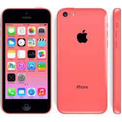 Mobiltelefon, Apple iPhone 5C 4G LTE 8GB, rózsaszín