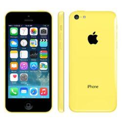 Mobiltelefon, Apple iPhone 5C 8GB, sárga