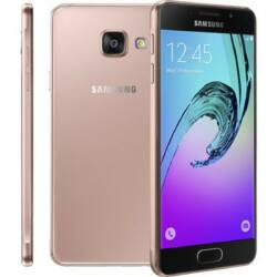 Mobiltelefon, Samsung A310 Galaxy A3 2016 4G 16GB, rózsaszín-arany
