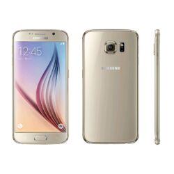 Mobiltelefon, Samsung G920F Galaxy S6 32GB, arany