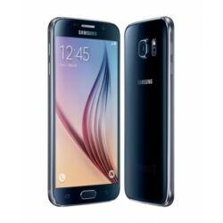 Telefon, Samsung G920F Galaxy S6 LTE 4G 128GB, fekete