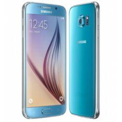 Mobiltelefon, Samsung G920F Galaxy S6 64GB, kék