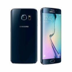Mobiltelefon, Samsung G925 Galaxy S6 Edge 4G 32GB, fekete