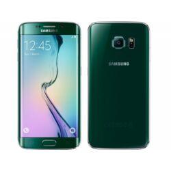 Mobiltelefon, Samsung G925 Galaxy S6 Edge 4G 64GB, zöld