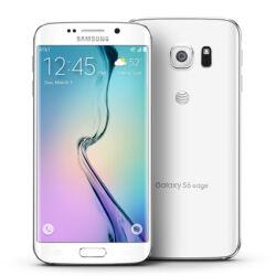 Mobiltelefon, Samsung G925F Galaxy S6 Edge 32GB, fehér