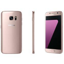 Mobiltelefon, Samsung G930F Galaxy S7 32GB, rózsaszín