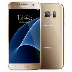 Mobiltelefon, Samsung G930FD Galaxy S7 DualSIM, arany