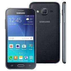 Mobiltelefon, Samsung J200H Galaxy J2 DualSIM, fekete