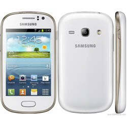 Telefon, Samsung S6810E Galaxy Fame, fehér