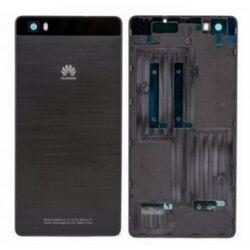 Akkufedél, Huawei P8 Lite, fekete