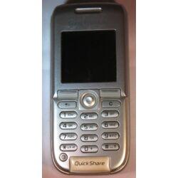 Mobiltelefon, Sony Ericsson K300i, ezüst (Bontott)