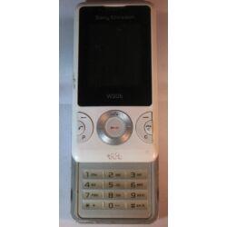 Mobiltelefon, Sony Ericsson W205, fehér (Bontott)