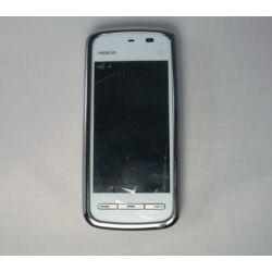 Mobiltelefon, Nokia 5230, fehér (Bontott)