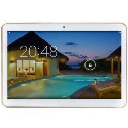 Tablet, Android Y3 10'' QuadCore, fehér