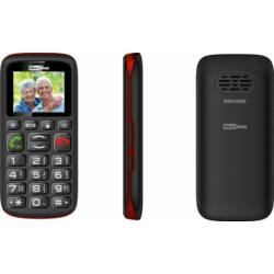 Telefon, MaxCom MM 428 DualSIM, fekete