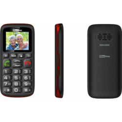 Mobiltelefon, MaxCom MM 428 DualSIM, fekete