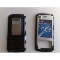Nokia 6110 Nav elő+akkuf, Előlap, fekete