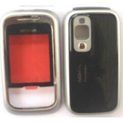 Nokia 6111 elő+akkuf, Előlap, fekete