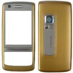 Nokia 6280 elő+akkuf, Előlap, arany - Dolce 'n Gabbana