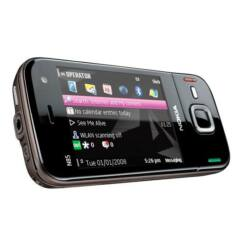Nokia N85, Előlap, fekete-réz