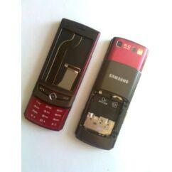 Samsung S8300 komplett ház akkufedél nélkül, Előlap, piros