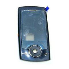 Samsung U600 elő+nav.pan, Előlap, zafír
