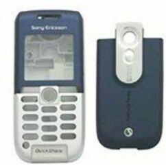 Sony Ericsson K300 komplett ház, Előlap, kék