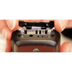 Sony Ericsson K700 rendszercsati takaró gumi, Előlap