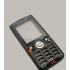 Sony Ericsson W810, Előlap, fekete