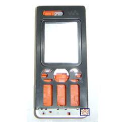Sony Ericsson W880, Előlap, fekete