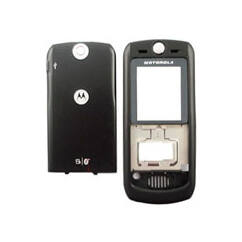 Motorola L7 komplett ház, Előlap, fekete