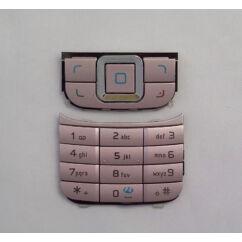 Nokia 6111 alsó-felső, Gombsor (billentyűzet), rózsaszín