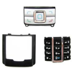 Nokia 6280 alsó+felső, Gombsor (billentyűzet), ezüst