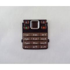 Nokia 6300, Gombsor (billentyűzet), barna - csokoládé