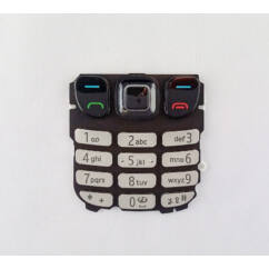 Nokia 6303/6303i, Gombsor (billentyűzet), ezüst
