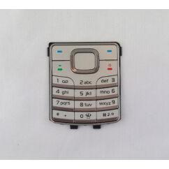 Nokia 6500 Classic, Gombsor (billentyűzet), ezüst