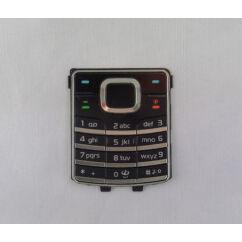 Nokia 6500 Classic, Gombsor (billentyűzet), fekete