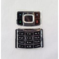 Nokia 6500 Slide alsó+felső, Gombsor (billentyűzet), fekete