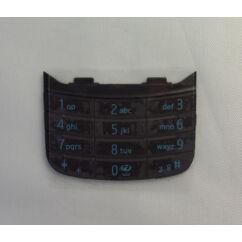 Nokia 6600 Slide alsó, Gombsor (billentyűzet), fekete-kék