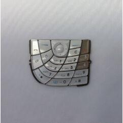 Nokia 7610, Gombsor (billentyűzet), ezüst-fehér