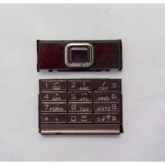 Nokia 8800 Arte Sapphire alsó+felső, Gombsor (billentyűzet), saphire