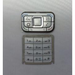 Nokia E65 alsó+felső, Gombsor (billentyűzet), ezüst