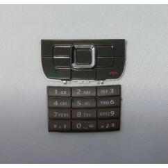 Nokia E66 alsó+felső, Gombsor (billentyűzet), sötétszürke